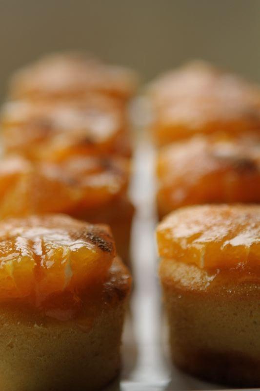 Orange Polenta Muffins