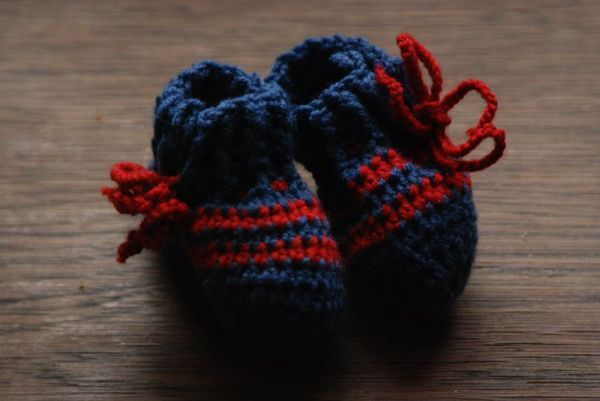 crochet baby shoes tutorial